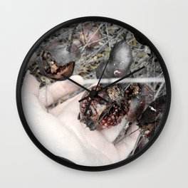 Wish for Eternal Winter Wall Clock
