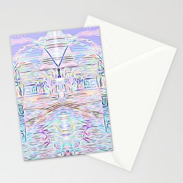 Light Cities of the New World Stationery Cards
