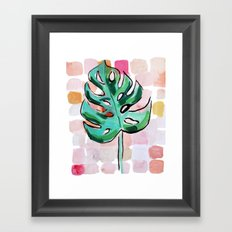 Life In The Shaded, Warm Air Is Good For The Soul Framed Art Print