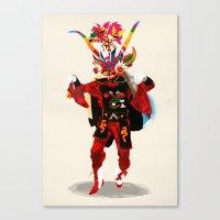diablo Canvas Prints featuring diablo by Alvaro Tapia Hidalgo