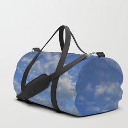 Cloudy sky Duffle Bag