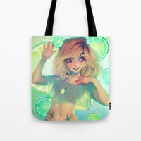 loish Tote Bags featuring Lemonade by loish
