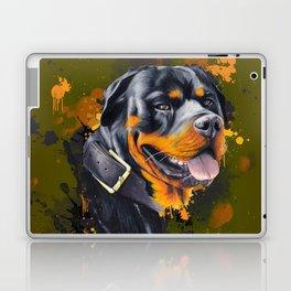 Rottweiler Laptop & iPad Skin