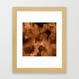 Melted Chocolate.... Framed Art Print