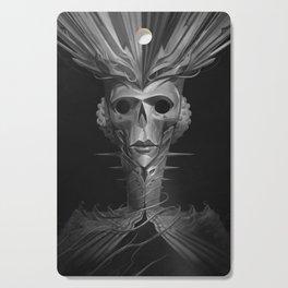 Skeleton Lady Cutting Board
