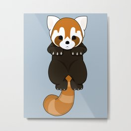 Lesser Panda / Red Panda Hanging Body Metal Print