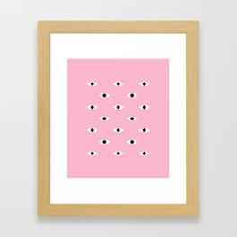 Pink Eye Framed Art Print