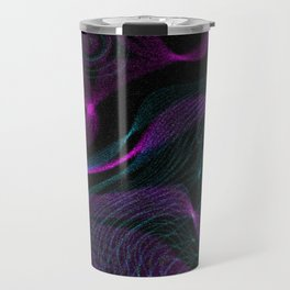 Neon Spins Travel Mug