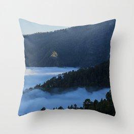 La Palma forest Throw Pillow
