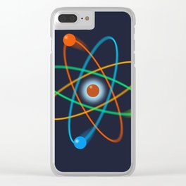 Atomic Structure Clear iPhone Case