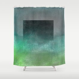 Square Composition V Shower Curtain