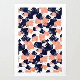 Buffer Art Print