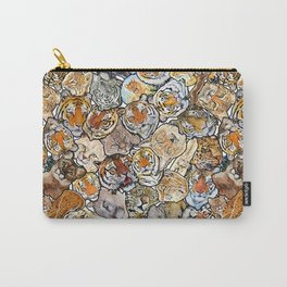 Big Cat Collage Carry-All Pouch