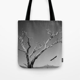 The Crow and Tree Tote Bag