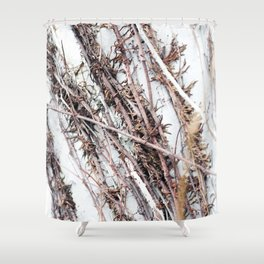 Illusory Marble Shower Curtain