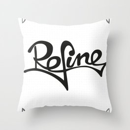 refine Throw Pillow