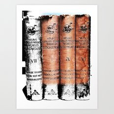 A Partial History Of The World Art Print