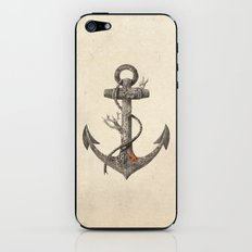 Lost at Sea - mono iPhone & iPod Skin