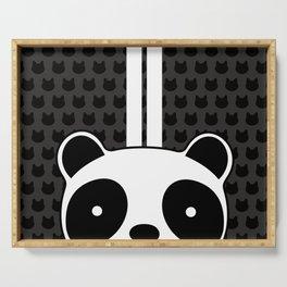 Racing Panda Serving Tray