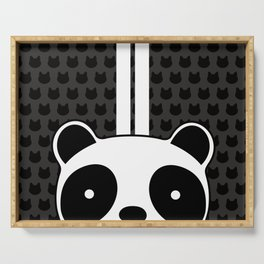 Racing Panda Serving Tray
