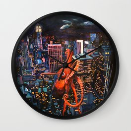 After the Deluge Wall Clock
