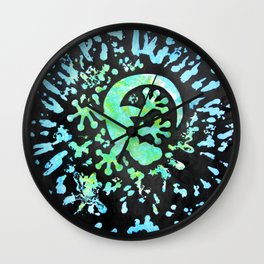 Lucky goes pop n°4 Wall Clock