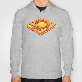 Waffle Pattern Hoody