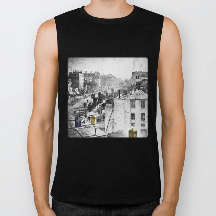 Daguerre In Time! Biker Tank