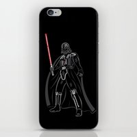 font iPhone & iPod Skins featuring Font vader by Fabian Gonzalez