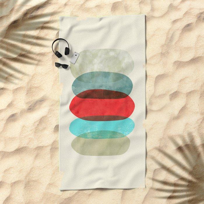 Underneath it all Beach Towel