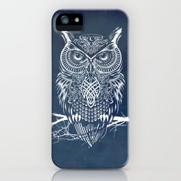 Warrior Owl Night iPhone Case