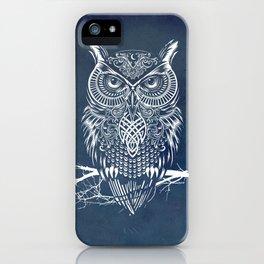 Warrior Owl Night iPhone Case
