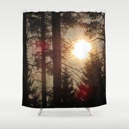 Springtime Shower Curtain
