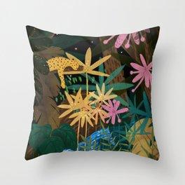 Jungle #2 Throw Pillow