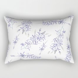 Lavender fields Rectangular Pillow