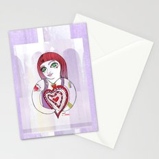 --->Strawberry_POP_Love! Stationery Cards