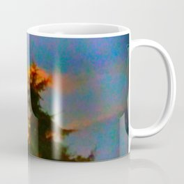 Sunrise and Fir Tree Coffee Mug