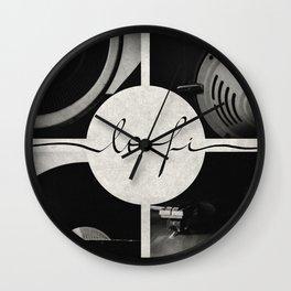Lo-Fi // Analog Zine Wall Clock