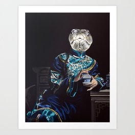 Chinese Zodiac - The Snake Art Print