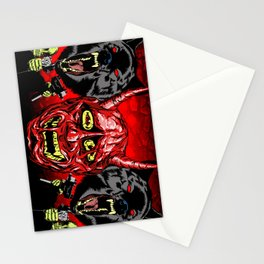 THEY NEVER DIE Stationery Cards
