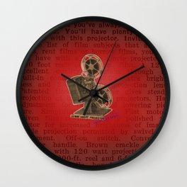 vintage projector Wall Clock