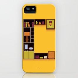 Alphabet Drop Caps Series- C iPhone Case