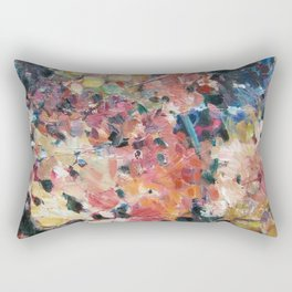 Hot Hydrangeas Rectangular Pillow