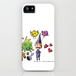 Doodle - Dario Splendido iPhone Case