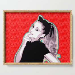 Ariana | Pop Art Serving Tray