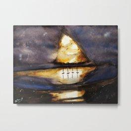 Bright Dark Metal Print