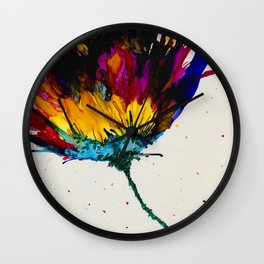 AB Flower Wall Clock