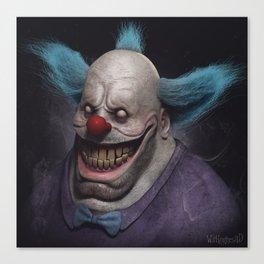 Krusty the Clown Canvas Print