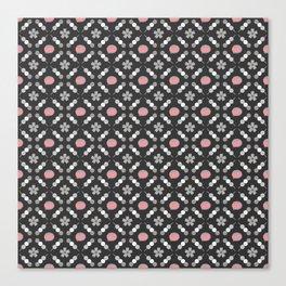 Hanami Nummies   Black Sakura Canvas Print