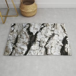 bark abstact no6 Rug